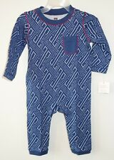 NWT Tea Collection Washi Pocket Romper Boy's 18-24 Month