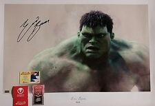Eric Bana Hand Signed 20X29 Art Poster Hulk Celebrity Authentics COA JSA PSA