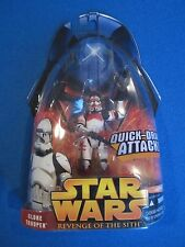 Star Wars Red Clone Trooper Action Figure Episode 3 III Revenge of the Sith