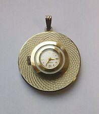 Bulova Caravelle pendant hand winding watch vintage