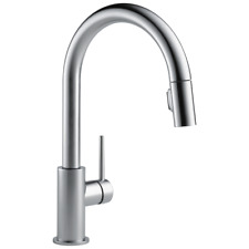 Delta Trinsic 9159-AR-DST Pull-Down Kitchen Faucet - Arctic Stainless
