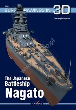 Kagero Super Drawings in 3D 51: The Japanese Battleship Nagato