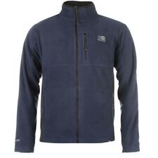 Zip Polyester Funnel Neck Regular Coats & Jackets for Men
