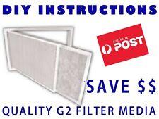 Air Conditioner Return Air Filter Media Material 500x1050m G2 - Universal