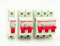 AC 230V/400V 1A-63A 6000A 1P/2P/3P/4P MCB Miniature Circuit Breaker DZ47-60