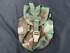 Canteen Cover Utility Pouch Woodland Camo Molle II