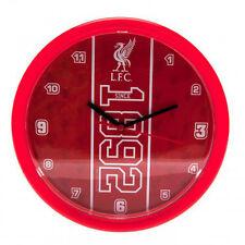 LIVERPOOL FC LFC ESTABLISHED WALL CLOCK SOUVENIR FOOTBALL CLUB NEW XMAS GIFT
