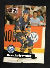 Dave Andreychuk--1991-92 Pro Set Hockey Card--Buffalo Sabres