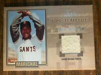 2003 Flair Greats Juan Marichal San Francisco Giants Game Used Pants Card NrMt