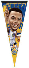 Stephen Curry NUMBER ONE! Golden State Warriors Premium Felt Collectors PENNANT