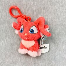 2004 Neopets Red Acara Keychain Clip Plush