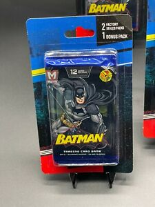 Lot of 12-Sealed MetaX Batman/Green Lantern/12 CardTrading Card /Bonus Pack New