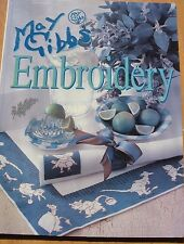 May Gibbs Embroidery book by Bay Books
