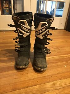 Fly Motocross Boots Size 11