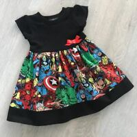Marvel/ Avengers Girls Dress, Goth, Punk, Alternative, Funky 2-8 Years