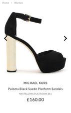 MICHAEL KORS Paloma Platform Suede Shoes Size 39 UK 6 Worn once ❤️ RRP £160