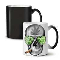 Skeleton Smoke Weed NEW Colour Changing Tea Coffee Mug 11 oz | Wellcoda