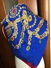 Foulard Must De Cartier Scarf Carre In Seta Silk Soie Monogramm