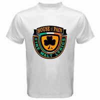 House of Pain Fine Malt Logo Men's White T-Shirt Size S M L XL 2XL 3XL