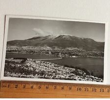 Photo Postcard Mt Wellington with Hobart Bridge Tas AB Series No 631 Australia
