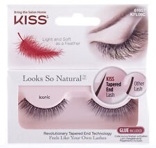 Kiss Natural False Eyelashes - ICONIC - Genuine Kiss Fake Lashes!