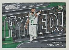 2018-19 Panini Prizm GET HYPED! #10 KYRIE IRVING Boston Celtics QTY AVAILABLE