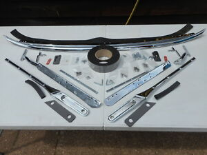 EXCHANGE MGA Windscreen Frame/fittings-carriage free Also assembled assemblies