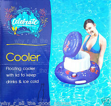 Celebrate Australia Day Aussie Flag INFLATABLE Floating Drink COOLER with Lid