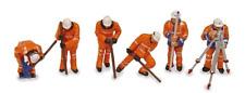 Scenecraft 36-050 Permanent Way Workers (Pk6) Figures OO Gauge