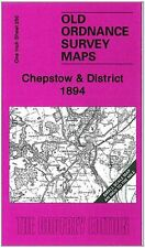 OLD ORDNANCE SURVEY MAP CHEPSTOW & DISTRICT 1894
