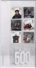 GB 2016 Royal Mail 500 Presentation Pack No 522 including GPO Minature Sheet