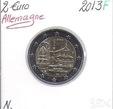 2 Euros - ALLEMAGNE - 2013 - Lettre: F // Pièce de Monnaie en Qualité: Neuve