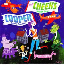 """7"""" the CHEEKS upside down COOPER quiero regresar GERMANY 2003 POWER POP mod 45"""