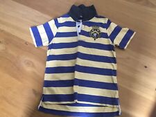 Joules Boys Striped Polo Shirt Age 7 Years