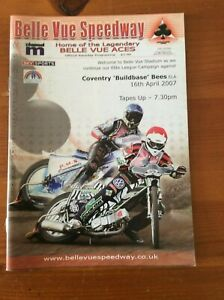 2007 BELLE VUE v COVENTRY + B.A.L COLTS v COVENTRY COUGARS 16th APRIL