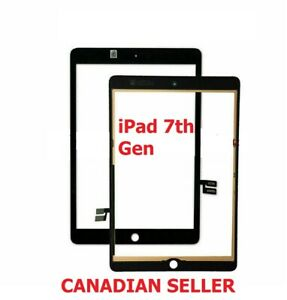 "iPad 7 7th Gen 2019 10.2"" Replacement Screen Digitizer Glass A2197 A2198 Black"
