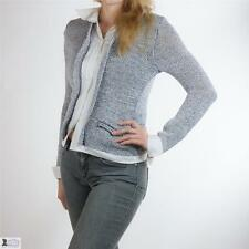 Chunky, Cable Knit Waist Length Wool Button Women's Jumpers & Cardigans