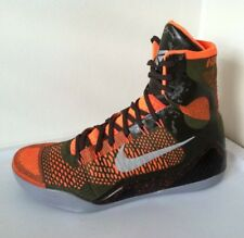 Nike Kobe 9 IX Elite Strategy Sequoia Crimson Men's Size 16 (630847-303)