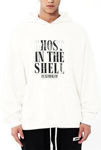 Ghost in the Shell  Men's hoodie Sweatshirt Ultimate 100% Cotton Heavyweight
