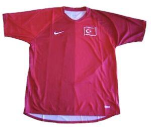 NIKE SOCCER TURKEY 2006 HOME JERSEYNEW $89.99 BRAND NEW ADULT SIZE S