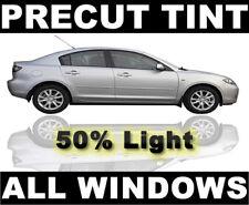 Chevy Silverado, GMC Sierra Extended Cab 01-06 Cut Window Tint -Light 50% Film