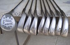 TOUR MODEL II SET OF 9 GOLF CLUBS 4,5,6,7,8,9,P,60* PLUS #9 FAIRWAY IRON  RH