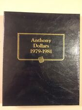 Whitman Classic Anthony Dollars 1979-1981 Coin Album Sealed NOS