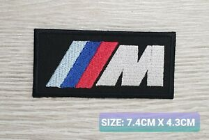 BMW M3 TEAM logo  Motor Embroidered Iron On/Sew On Patch Badge