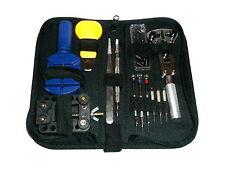 30-tlg. Uhrmacherwerkzeug Uhr Reparatur Set Werkzeug Tasche Uhrwerkzeug Konvolut