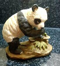 Vintage Black & White Panda Bear Figure Figurine Mounted Loose Marks & Rosenfeld