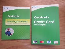 Intuit QuickBooks Credit Card Processing Kit AND Learning Quickbooks 2008
