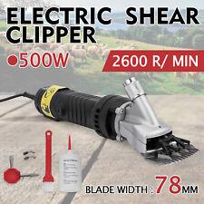 500W Electrique Cisaille Tondeuse à Cheveux Ciseaux Clipper Mouton Chèvre Animal