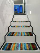 15Pcs Stair Treads Carpet Rug Skid-Resistant Non-Slip Indoor Stair Mat Cover Set