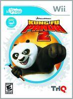 Nintendo Wii Kung Fu Panda 2 Video Game uDraw Tablet Artistic Play Beyond Movie